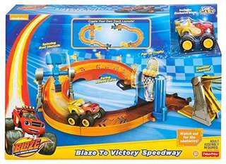 Blaze racetrack and toy brand new