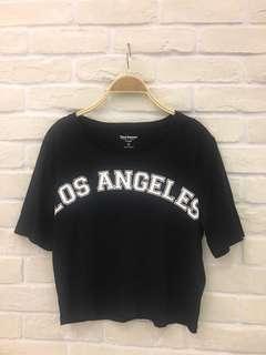 🚚 Juicy Couture黑色超柔棉短版,胸圍36,衣長:46cm,只穿過一次