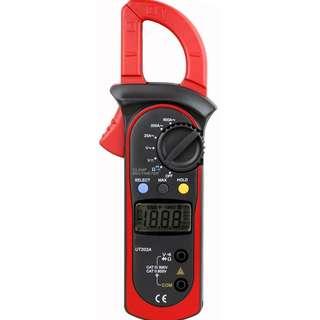 Uni-Trend UT202A Auto-ranging AC 600 Amp Clamp Meter  --826