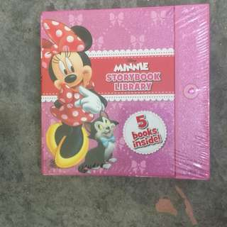5 in 1 minnie story book