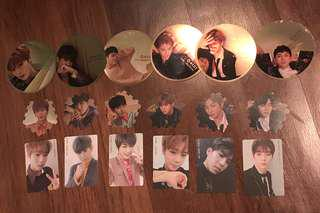 WTT Wanna One I Promise You Album Mirror / Tazo / Pc