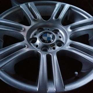 Perfect Condition E90 MSPORT STAGGERED 17 INCH RIMS. NEVER REPAIRED RM1888