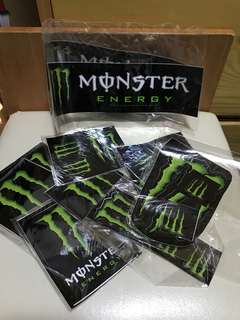 ✅🉑交換✅ Monster貼紙(散裝19張)✨全新✨
