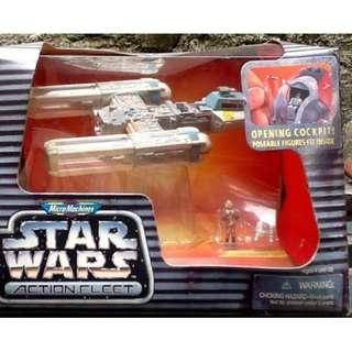 "STAR WARS ACTION FLEET ""Y-Wing Starfighter"""
