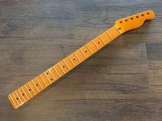 Vintage Guitar Neck Maple - Tele Headstock