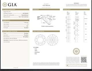 1.70 Carat GIA certify, E, VS1 excellent cut diamond