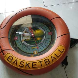 Jam dinding basket