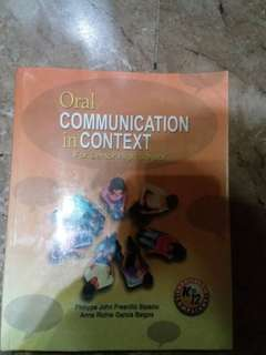 Oral Communication book (K-12)