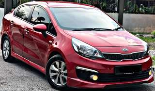 SAMBUNG BAYAR / CONTINUE LOAN  KIA RIO K2 1.4 AUTO NEW CAR LATEST FACELIFT