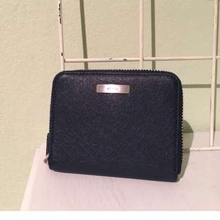 Ecco Navy Blue Wallet