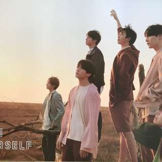 BTS LOVE YOURSELF TEAR POSTER Y VERSION