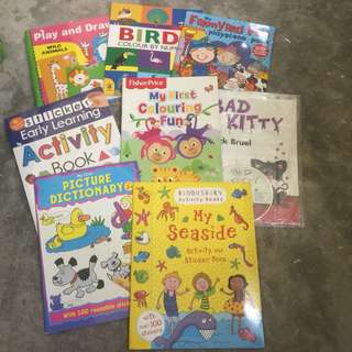 activity and stickers book