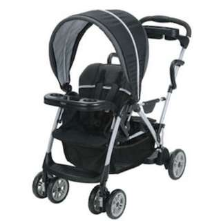 Graco® Room For 2™ Click Connect Stand & Ride Stroller - Glacier