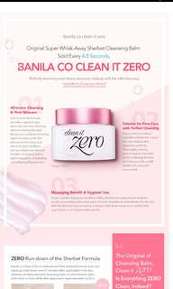 Banila clean it zero
