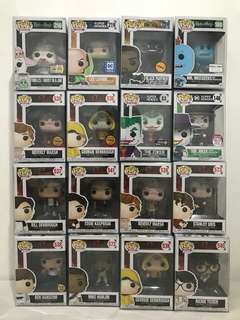 FUNKO POPS IT, DC, Rick and Morty, BP chase