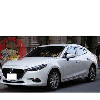 【老頭藏車 】2017 Mazda 3『0元就把車貸回家 』『全貸,超貸,免保人』中古 二手 汽車