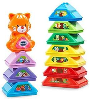 🚚 (Pre-Order)  VTech Nest and Build Tree Stacker
