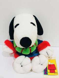 Snoopy plush toy with cute clothes