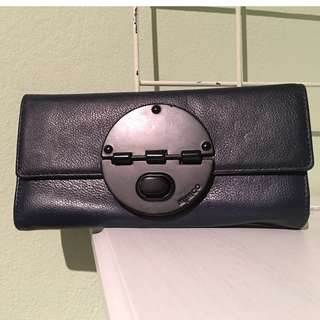 Mimco Navy Blue Long Wallet
