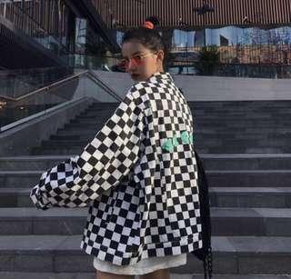 (PO) Checkered Jacket