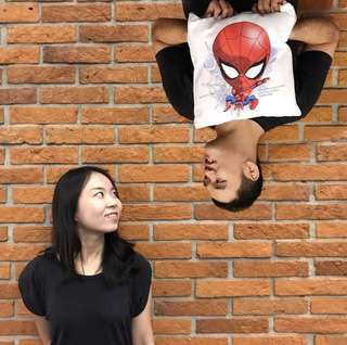 Bantal superhero spiderman