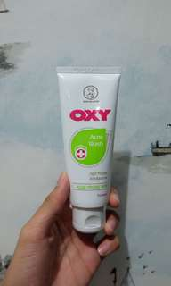 Oxy acne face wash