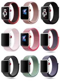 Apple Watch 尼龍回環錶帶 iwatch 3/2/1錶帶