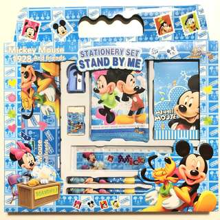 BN 8 IN 1 Mickey Mouse Club House Minnie Cartoon Goodies Set Kids Birthday Goodies Bag Children Gifts Stationery Set