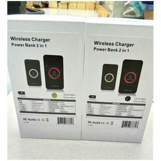 WIRELESS charger 2in1 powerbank