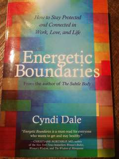 Energetic Boundaries - Cyndi Dale