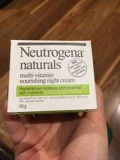 Neutrogena naturals Multi vitamins nourishing Night Cream x2 RRP $15 each