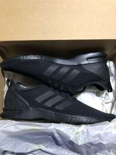 Black Adidas ZX Flux Smooth Shoes
