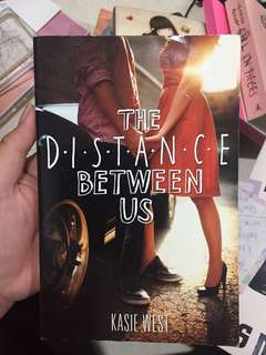 The Distance Between Us/ novel inggris
