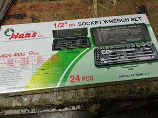 1/2 dr socket wrench set
