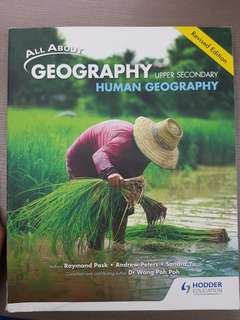 Human Core/Full Geography Textbook(Latest Edition)