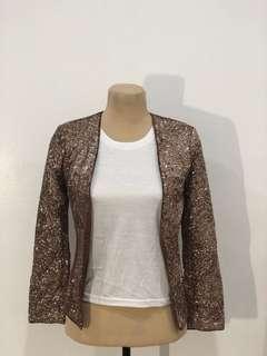 H&M sequined blazer