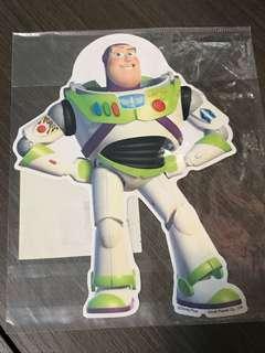 $20包郵 日本迪士尼 巴斯光年 Buzz 貼紙