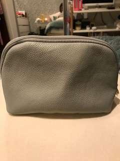 Bvlgari grey pouch