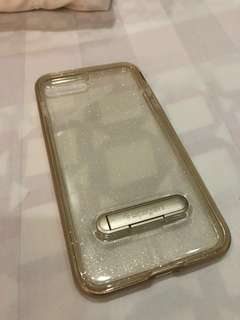 Spigen Gold Glitter case with stand (iPhone 7/8+)