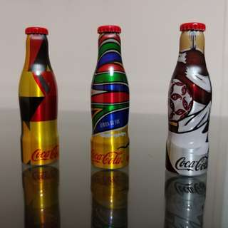 可口可樂. Coca Cola Coke 2014 世界盃 鎖匙扣 迷你 鋁瓶 (1支)