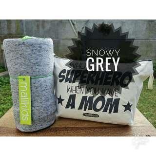 malilkids geos snowy grey size L