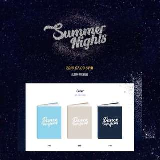TWICE 2nd Special Album SUMMER NIGHTS (A/B/C Ver)