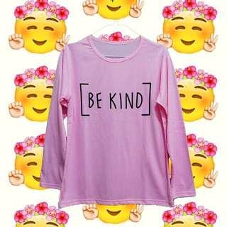 Be Kind Longsleeve Tee