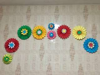 Handmade Paper Flowers Party Decoration