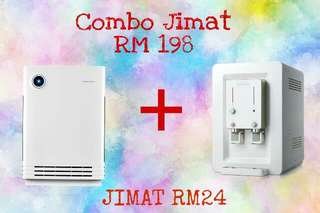 COWAY Air Purifier & Water Filter COMBO at RM198