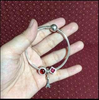 Rush pandora bracelet