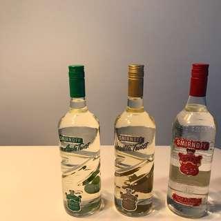 Smirnoff Vodka $52 each
