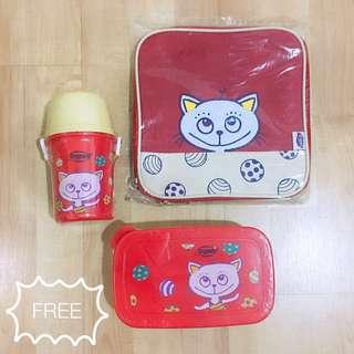 Drypers Lunch Box / Bottle / Bag