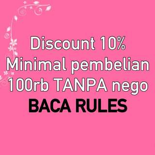 DISC 10% BACA CAPTION