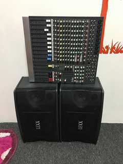 Equaliser & Speaker Set For Sale